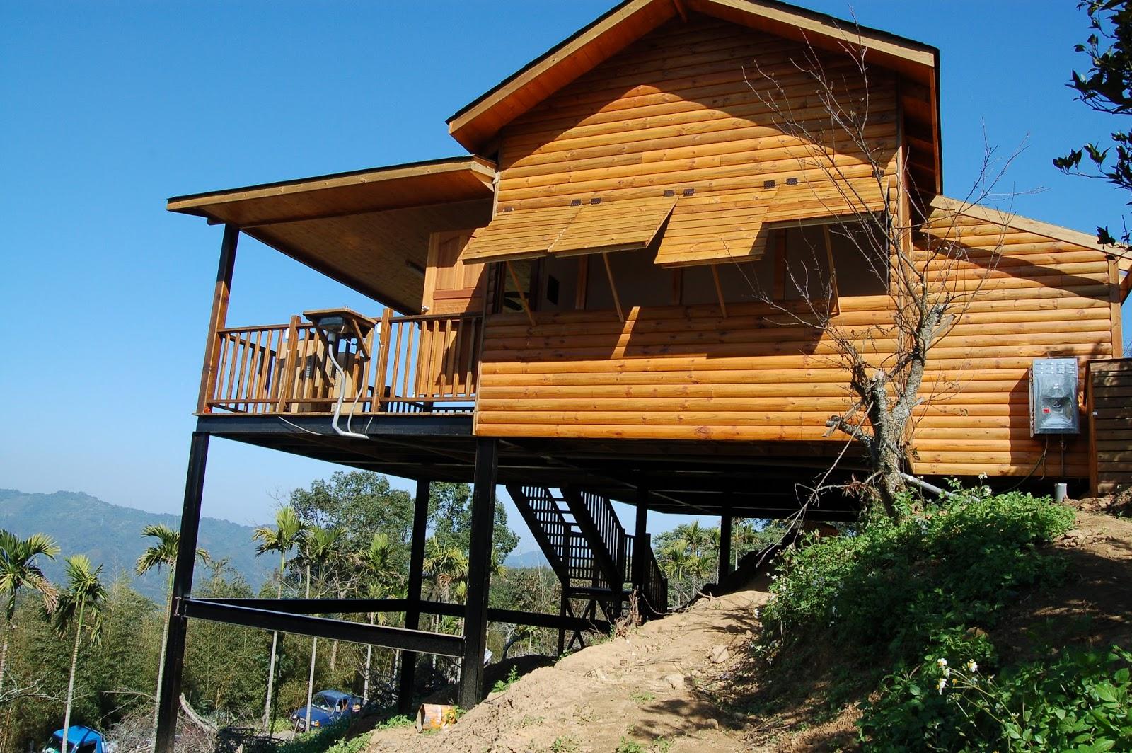 達森建築.室內設計: 大湖十八份道小木屋