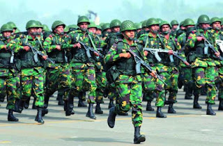 Appointment of 2018 for recruitment of soldiers in Bangladesh army