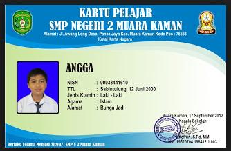 gambar kartu pelajar/siswa