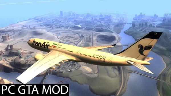 Free Download IranAir Airbus A330-200  Mod for GTA San Andreas.