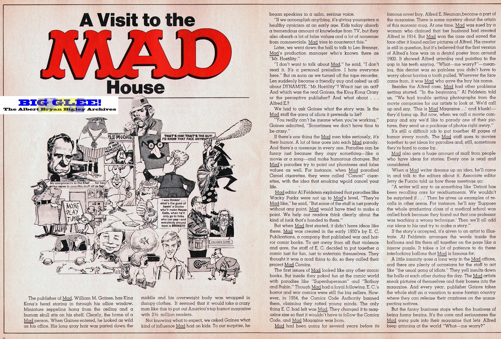 ef62f50d59714 As noted above, MAD was the vehicle that told kids to be suspicious of  advertising, parents, teachers, and the whole adult world!