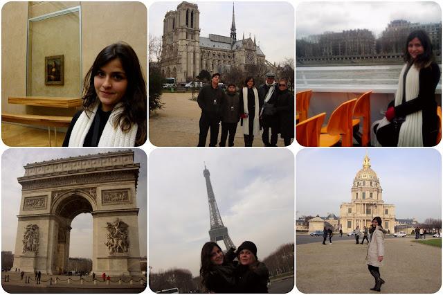 Paris / França / Torre Eiffel / Catedral de Notre-Dame de Paris / Champs-Élyséees / Arco do Triunfo / Museu do Louvre / Rio Sena