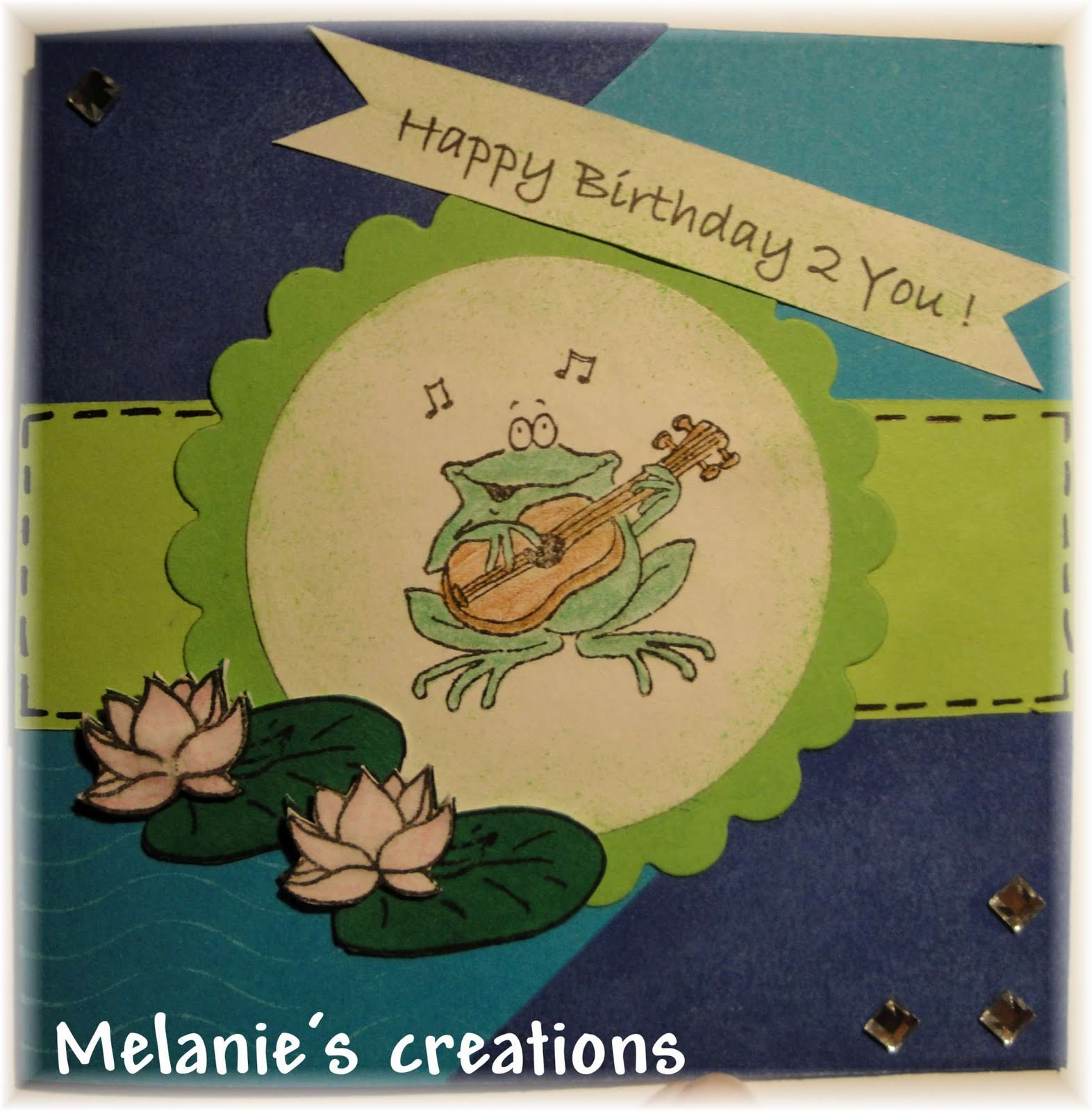 Melanie's Creative World: Happy Birthday 2 U