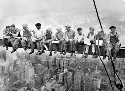 Lunch atop a Skyscraper, NY - 1932