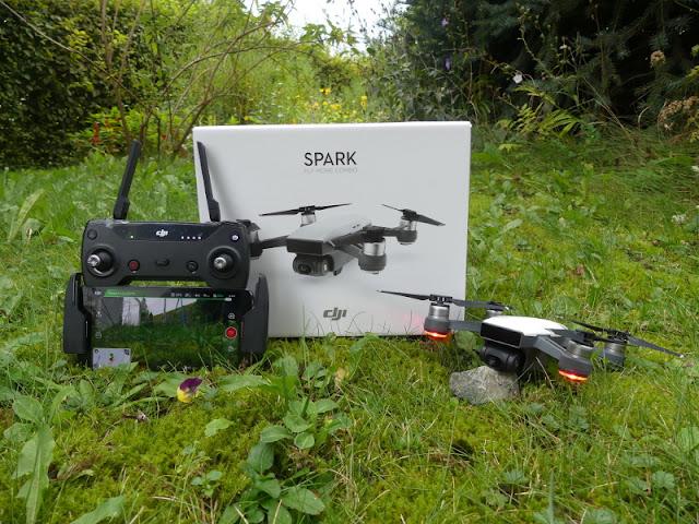 Drone DJI Spark Digitografi