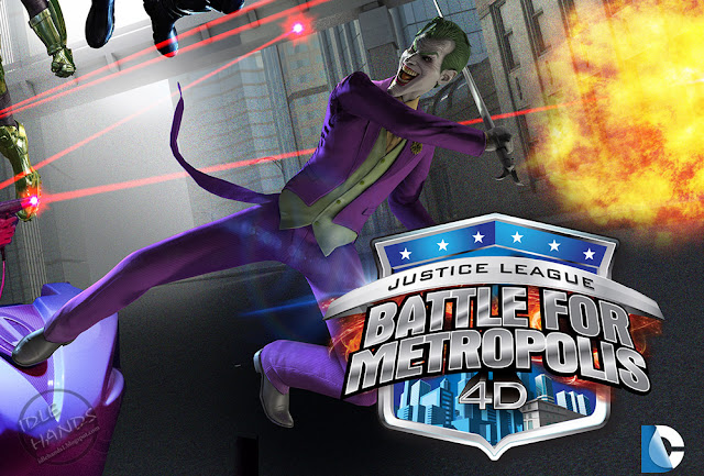 Six Flags Great Adventure DC Comics Justice League Battle for Metropolis Ride