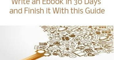 how to write an ebook in a day