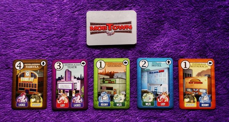 Mob Town - karty budynków