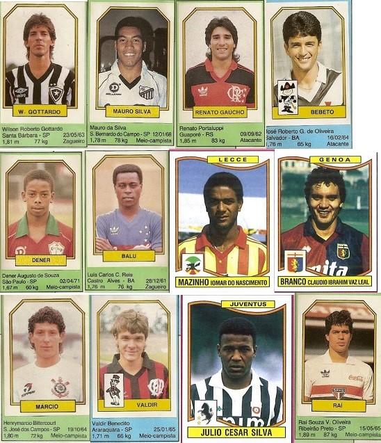Campeonato Brasileiro Key Missing Players: Soccer Nostalgia: Compendium To Paulo Roberto Falcão Era