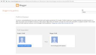 blogger açma