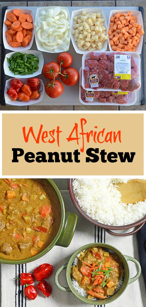 How to make West African Peanut Stew