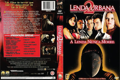 Filme Lenda Urbana 2 (Urban Legends Final Cut) DVD Capa