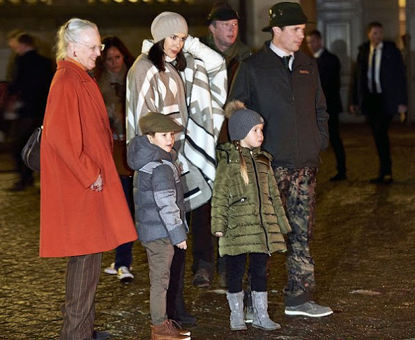Danish Crown Princess Mary wore Zara Poncho Coat - Zara Cape, Style of Princess Mary