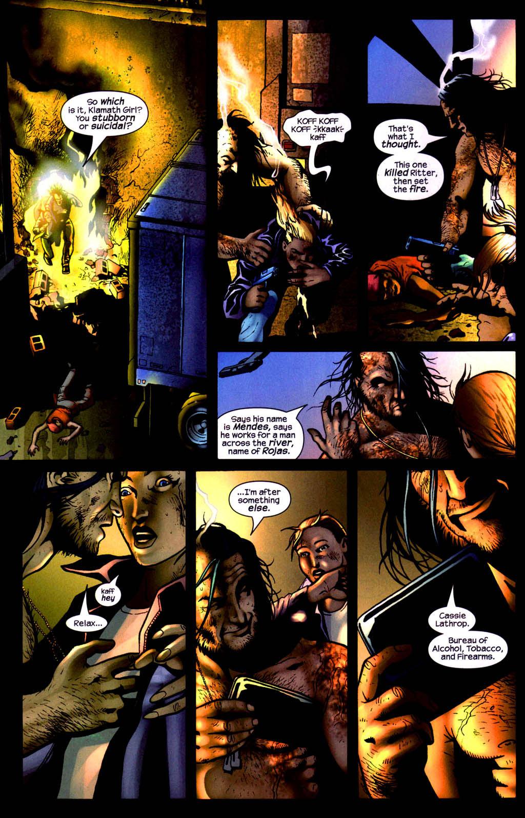 Read online Wolverine (2003) comic -  Issue #8 - 17