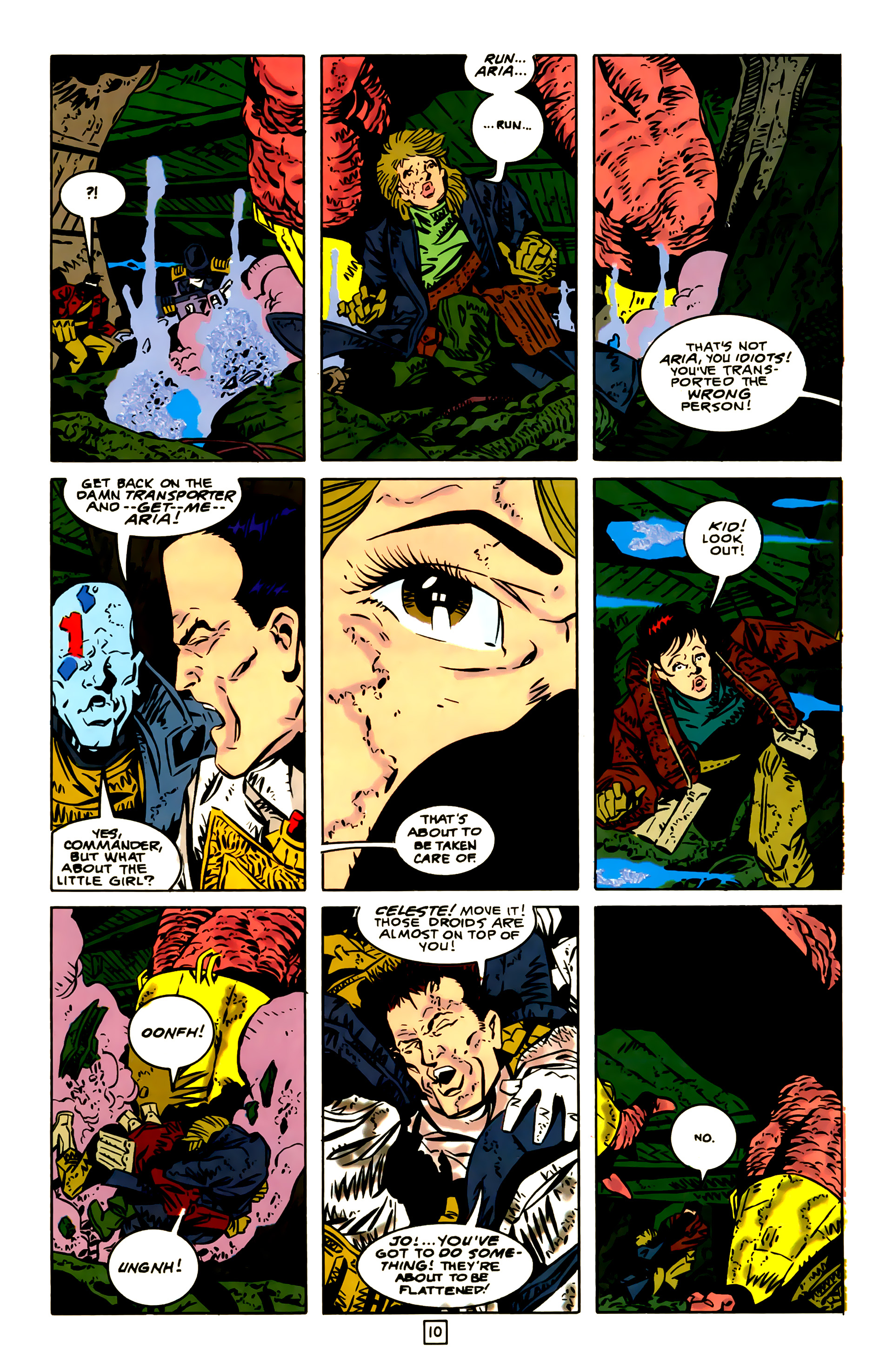 Legion of Super-Heroes (1989) 23 Page 10