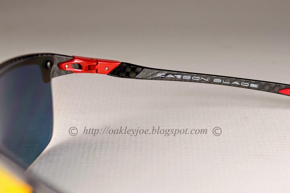 15862aa01d Oakley Ferrari Carbon Blade Lenses
