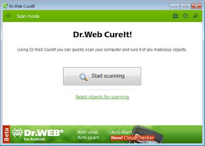 Dr.Web CureIt 11 - Καταπολεμήστε τους ιούς με έξτρα προστασία