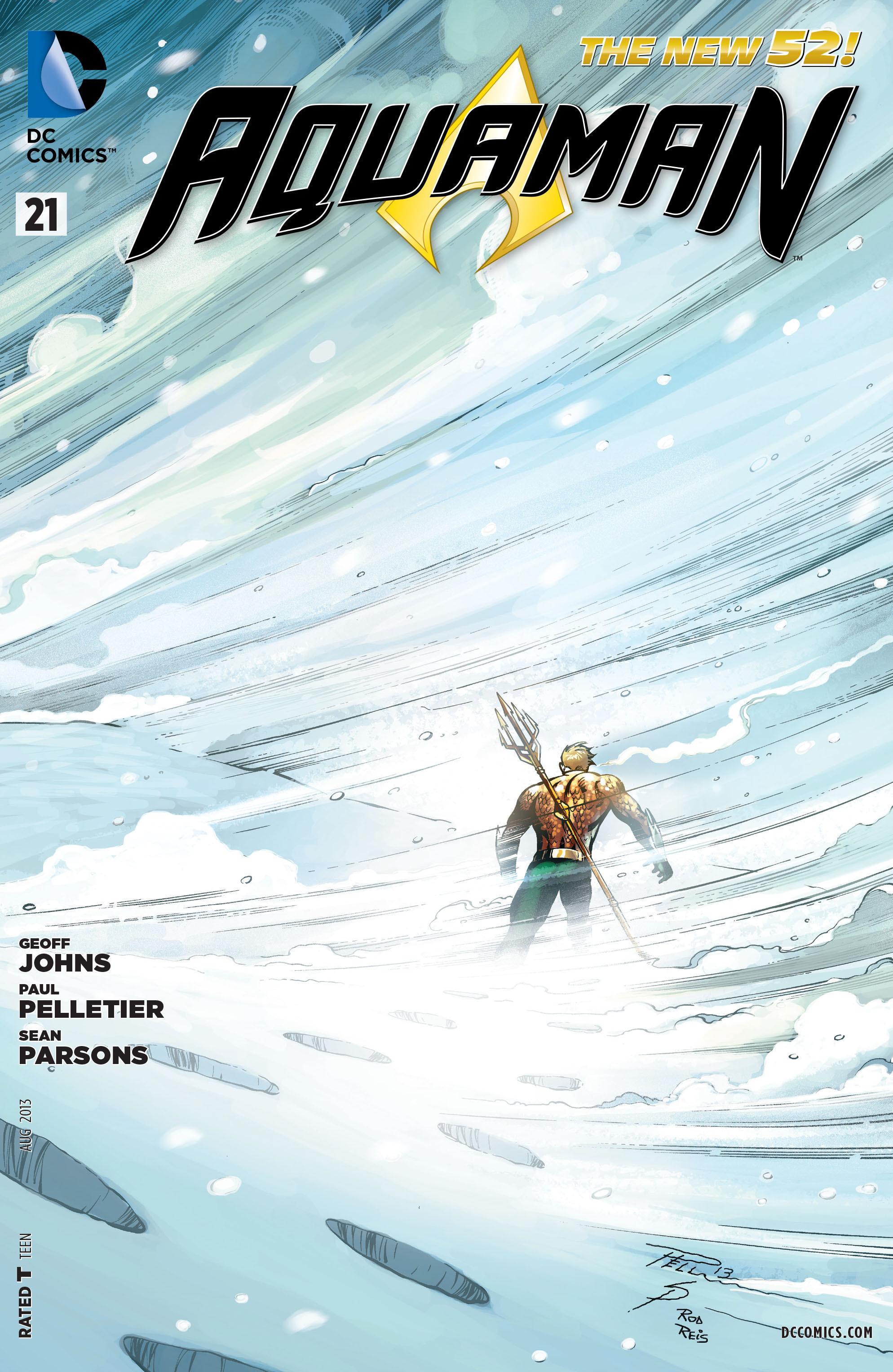Read online Aquaman (2011) comic -  Issue #21 - 1