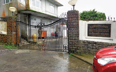 Lal Kothi gate Darjeeling