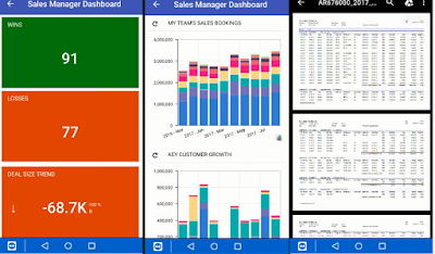 dashboards and reports acumatica