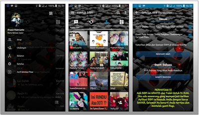 BBM MOD TRANSPARAN FULL FEATURES NEW VERSI 3.0.0.18 APK