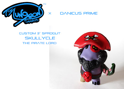 Toy Dungeon Studios x Danicus Prime Skullycle Resin Figure