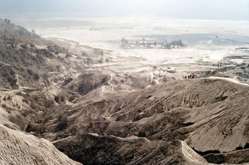 wulkan bromo pustynia