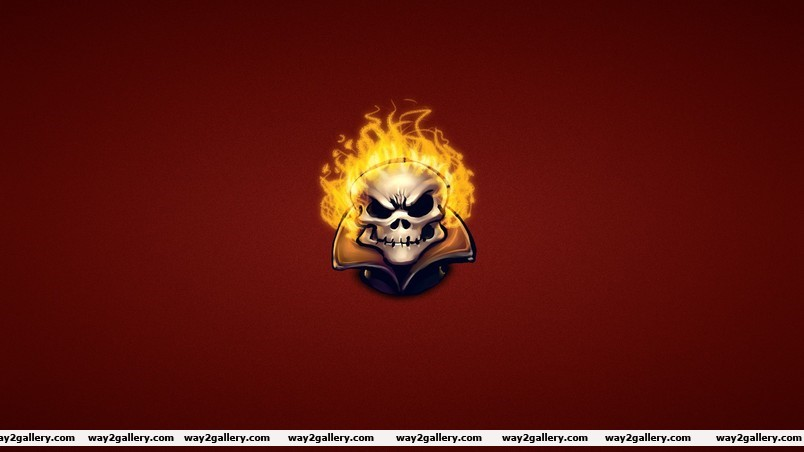 Ghost rider skeleton wallpaper