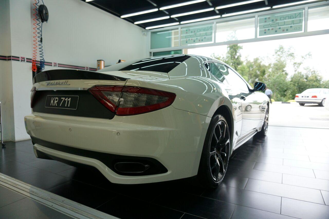 Maserati shower