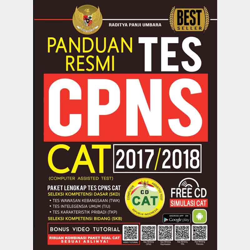 Ebook CPNS Panduan Resmi Tes CPNS CAT 2017-2018