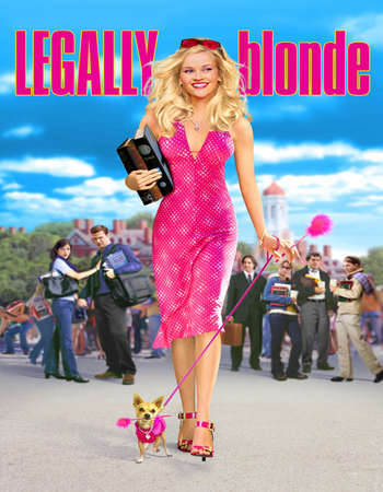 Legally Blonde 2001 English 400MB BluRay 720p ESubs HEVC Free Download Watch Online Downloadhub.in