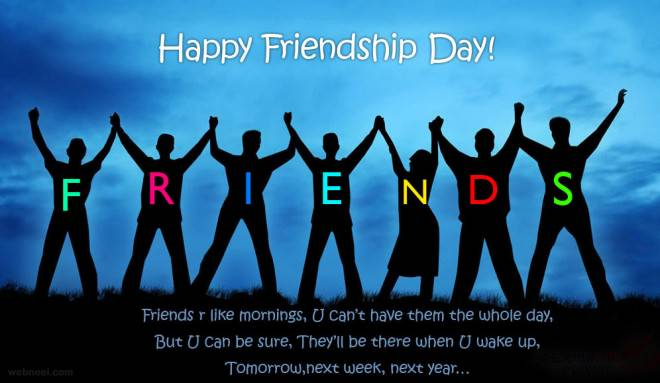 Happy Friendship Day 2017 Wishes, Messages, Quotes, Images, Pictures