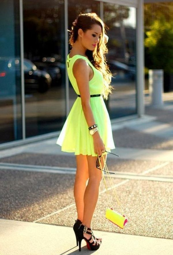 Outfits con vestidos casuales de moda
