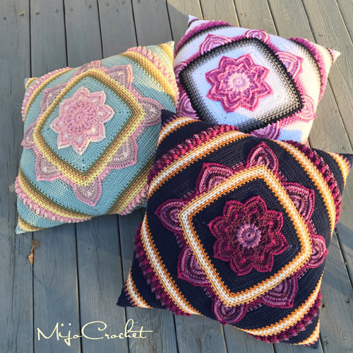 Bloom Pillow - Free Pattern