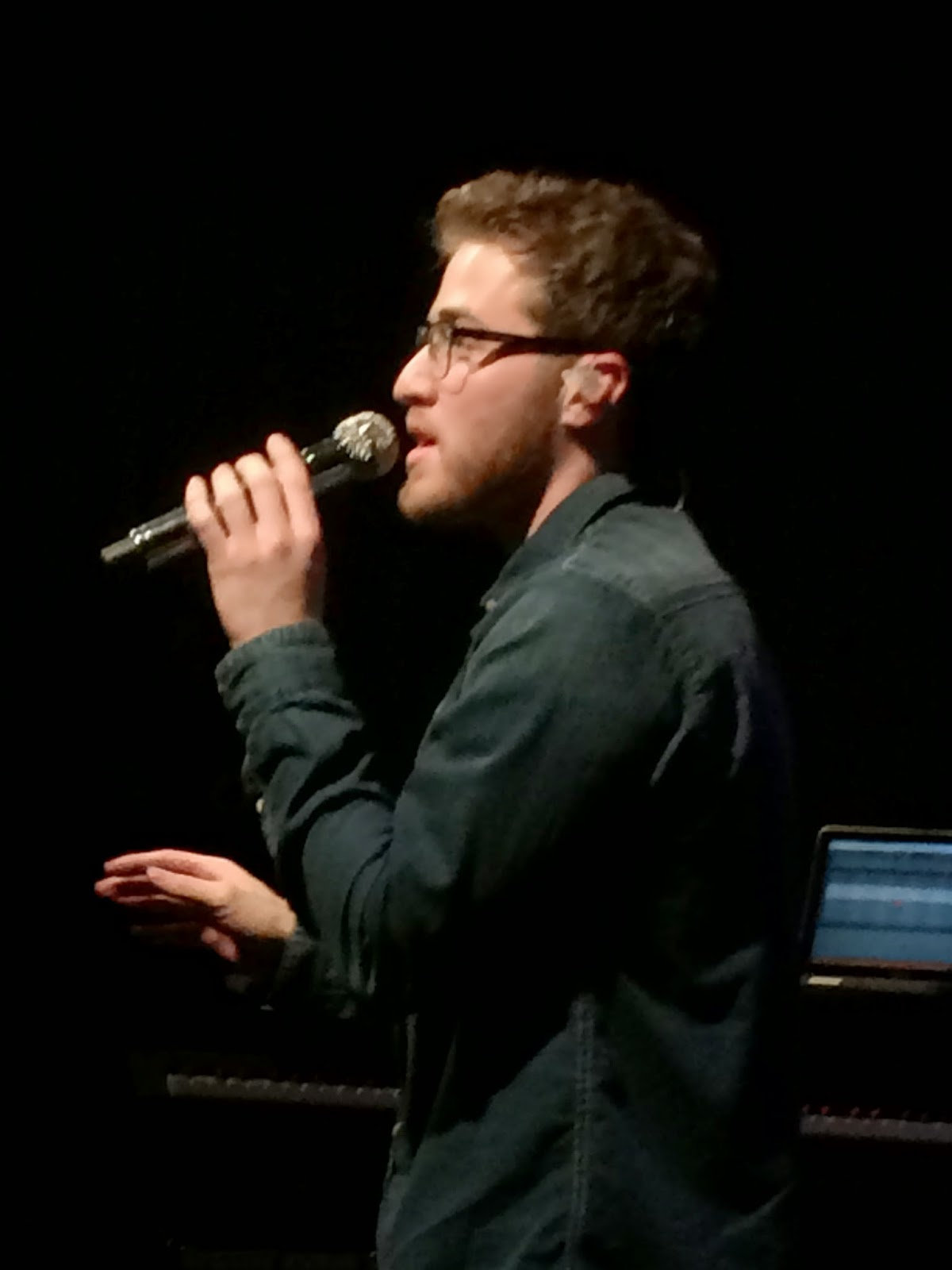 Mike Posner's Unplugged Tour at World Cafe Live in Philadelphia March 31, 2014