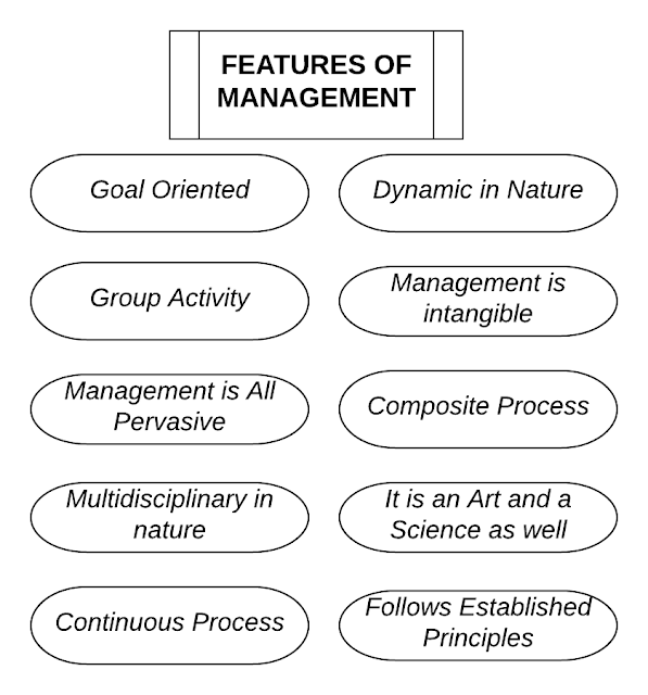 Characteristics, Features or Nature of Management - StudyShout