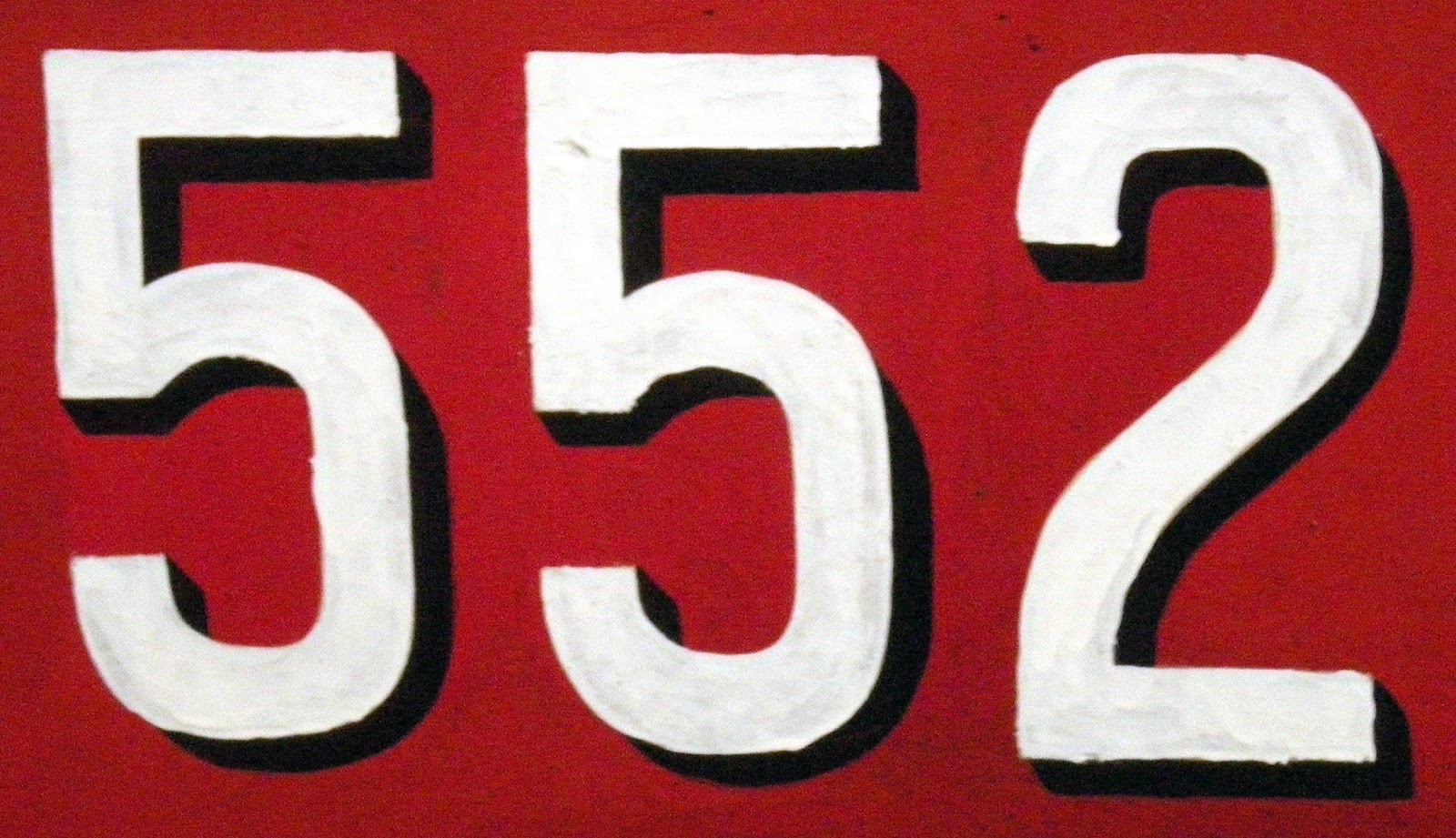 552 is the sum of six positive fifth powers (A003351): 552 = 35 + 35 + 25 +  25 + 15 + 15.