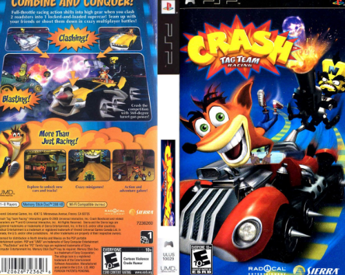 Crash Team Racing PPSSPP ISO