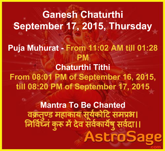 Worship Lord Ganesha this Ganesh Chaturthi as per your zodiac sign.