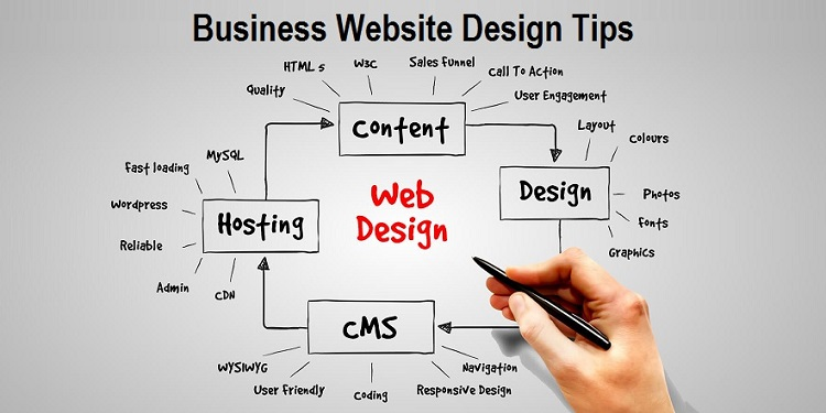Business Website Design Tips