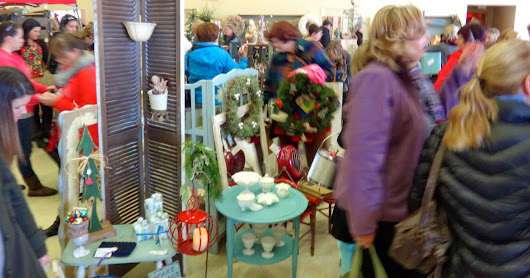 VINTAGE WITH FLAIR - CHRISTMAS IN THE COUNTRY!!!! Artisans, creators and purveyors !!!!!