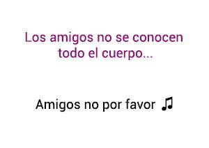 Yuridia Amigos no por favor significado de la canción.