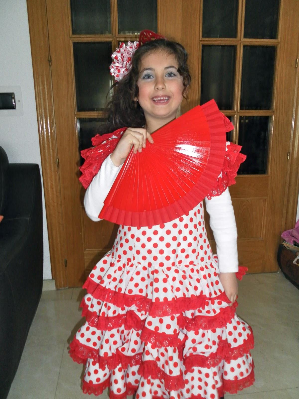 b5d475d9e Solo yo: Disfraz de Flamenca..