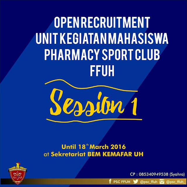 Open Recruitment UKM PSC FFUH