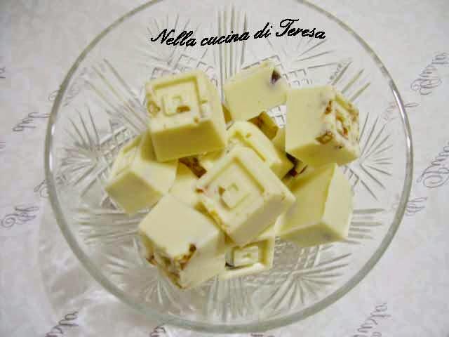 Nella cucina di teresa cioccolatini alla frutta secca - Nella cucina di teresa ...