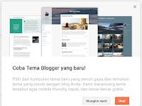 Blogger Rilis 4 Template Terbaru Dengan Desain lebih Profesional