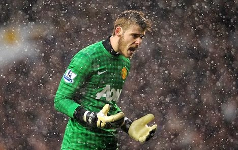 Real Madrid target David De Gea won't take a risk
