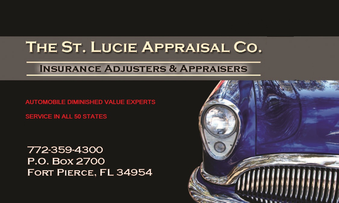 diminished value claim florida the st appraisal company motor vehicles personal 16965 | FRONT DIMINISHED VALUE 50 STATES