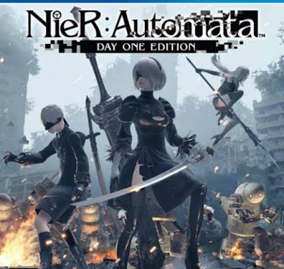 Nier Automata Xbox one gameplay