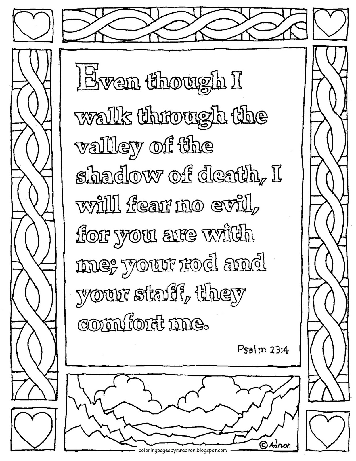 coloring pages for kids by mr adron printable coloring page